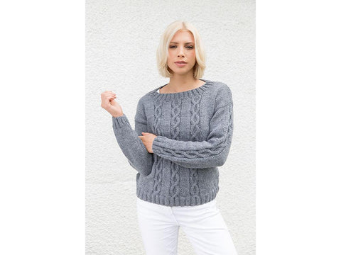 Jumper in Rico Design Soft Wool Aran
