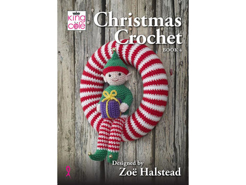 Christmas Crochet Book 4 by King Cole