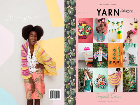 Scheepjes YARN Book-a-zine - Tropical Issue