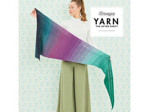 YARN The After Party 32 - Crochet Kit and Pattern The Shawl Exclamation