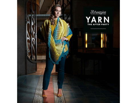YARN The After Party 39 - Crochet Kit and Pattern Venice Wrap
