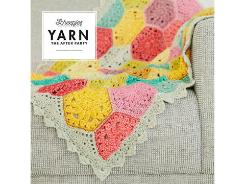 YARN The After Party 42 - Crochet Kit and Pattern Confetti Blanket