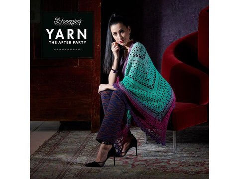 YARN The After Party 49 - Crochet Kit and Pattern Valyria Shawl