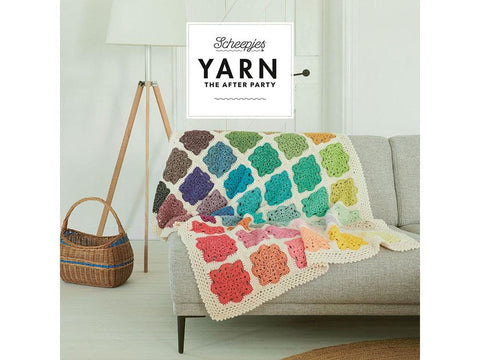 YARN The After Party 81 - Crochet Kit and Pattern Memory Throw