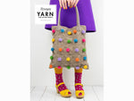 YARN The After Party 97 - Crochet Kit and Pattern Polka Pop Tote