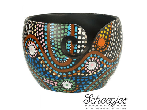 Scheepjes Yarn Bowls Mango Wood - Limited Edition