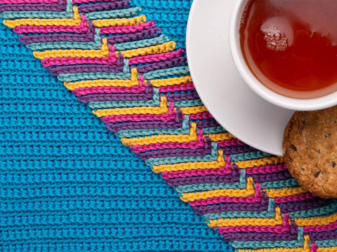 Ziggy Place Settings Crochet Kit and Pattern in Sirdar