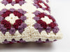 Small Granny Squares Cushion Crochet Kit and Pattern (TV Bundle)
