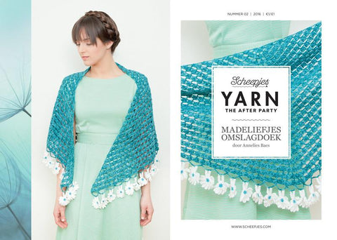 YARN The After Party 02 - Daisy Shawl
