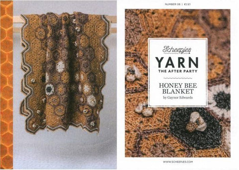 YARN The After Party 08 - Honey Bee Hexagon Blanket