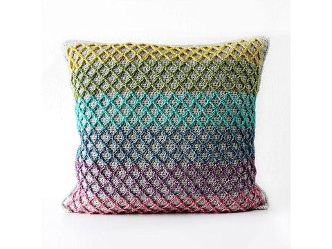 Anchor Pillow Crochet Kit in Scheepjes Yarn