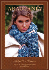Loop Scarf and Long Wristwarmers by Jo Allport in Araucania Curaco (AY012)
