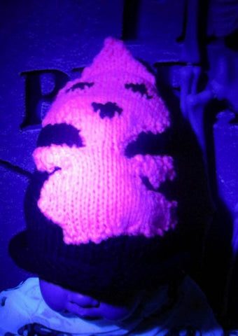 Baby Pink Ghost Halloween Beanie Hat by MadMonkeyKnits (9) - Digital Version