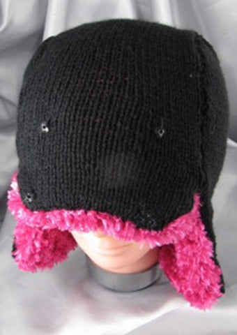 Baby Trapper Hat by MadMonkeyKnits (475) - Digital Version