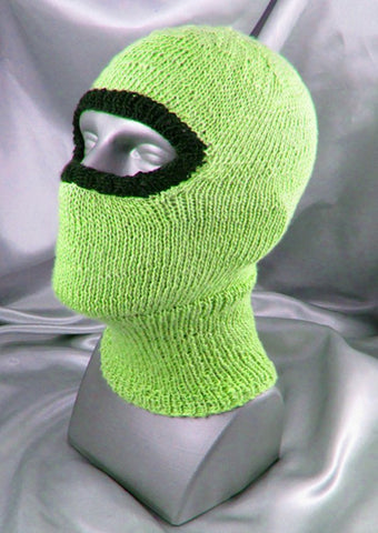 Biker Balaclava by MadMonkeyKnits (477) - Digital Version