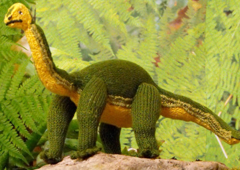 Brian the Brontosaurus by MadMonkeyKnits (1) - Digital Version