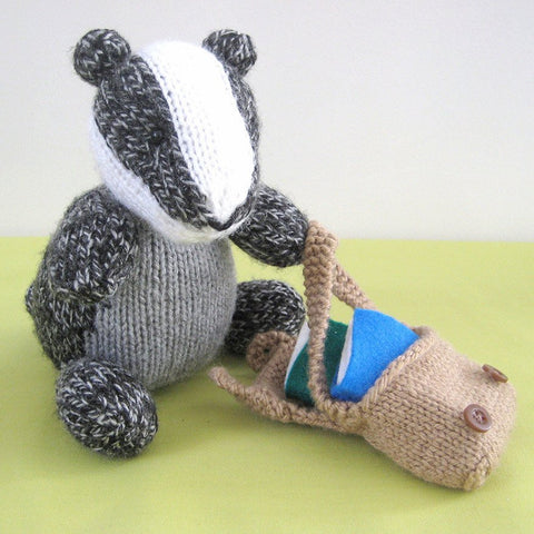 Brompton Badger in DK by Amanda Berry - Digital Version