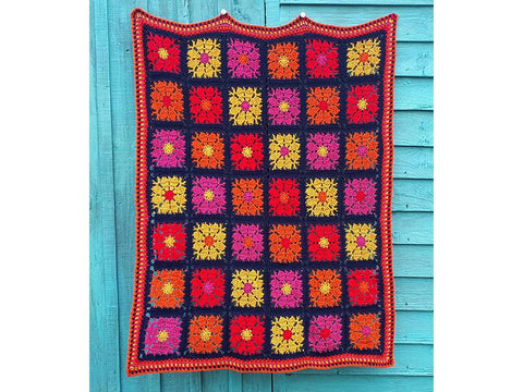 Carousel Blanket by Carmen Heffernan in Deramores Studio DK