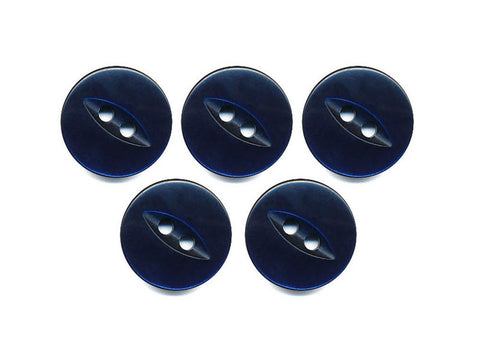 Fish-Eye Buttons - Blue - 173