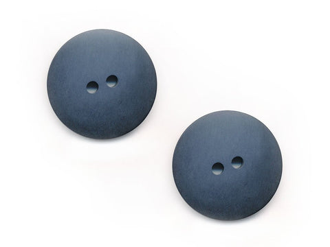 Wood Effect Buttons - Blue - 182