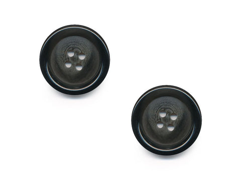 Round Rimmed Graduated Effect Buttons - Grey - 194