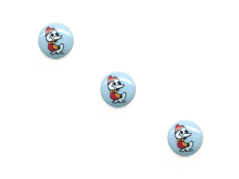 Round Novelty Buttons - Duckling - 430