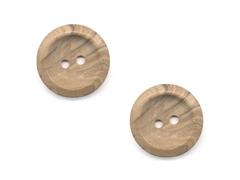 Round Stone Texture Effect Buttons - Beige - 514