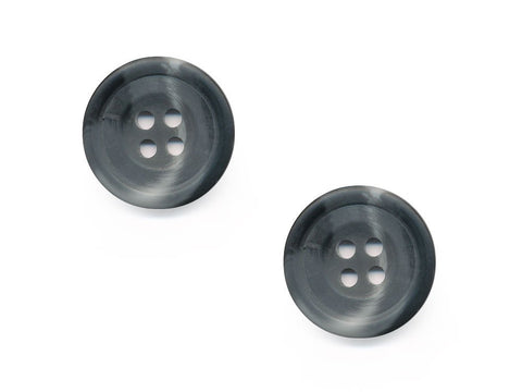 Round Shell Effect Buttons - Grey - 542