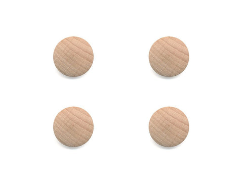 Round Wooden Buttons - 999