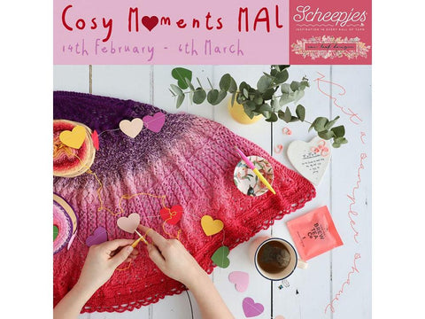 Cosy Moments Make-Along by New Leaf Designs in Scheepjes Whirl