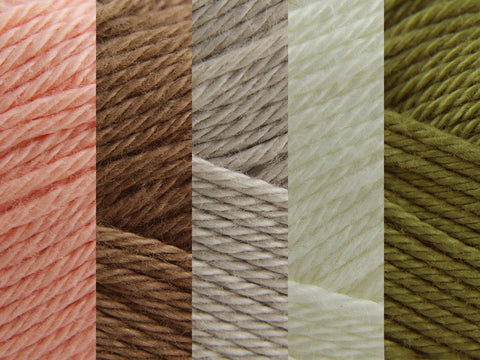 Sirdar Cotton DK Colour Pack - Vintage