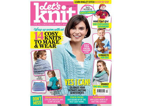 Let's Knit Magazine - Issue 152