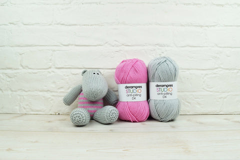 Henrietta the Hippopotamus in Deramores Studio DK - Digital Version