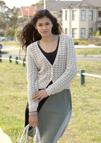 Cardigans and Vests in Patons 100% Cotton DK (3769)