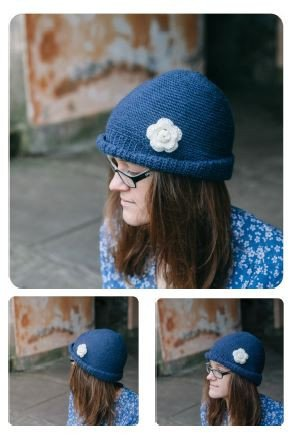 Echium Cloche Hat by Elly Doyle - Digital Version