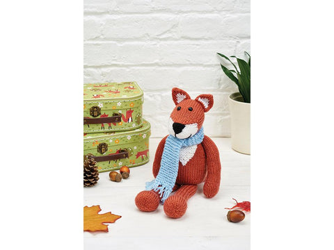 Simply Knitting Winter Fox (Mr Foxington) by Amanda Berry in Deramores Studio DK