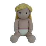 Girl Doll - By Knitables - Digital Pattern