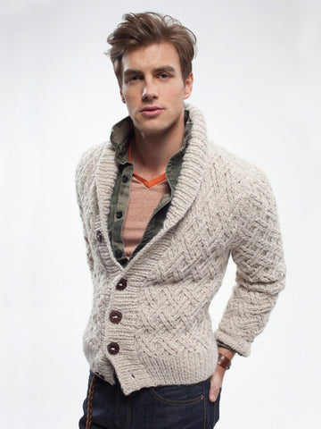 Grandsons Cardigan by Rowan - Digital Version