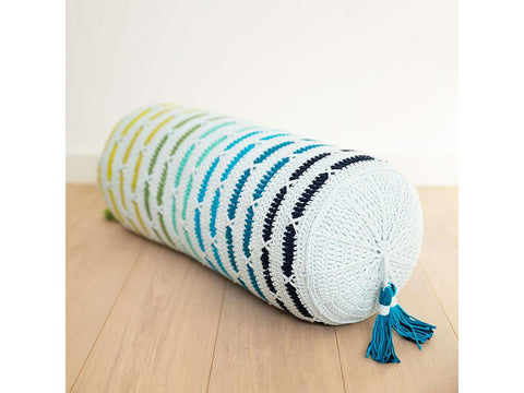 XOXO Pillow Crochet Kit and Pattern Scheepjes Yarn