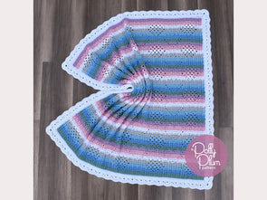 I Heart Granny Baby Blanket by Polly Plum in Stylecraft Bambino DK