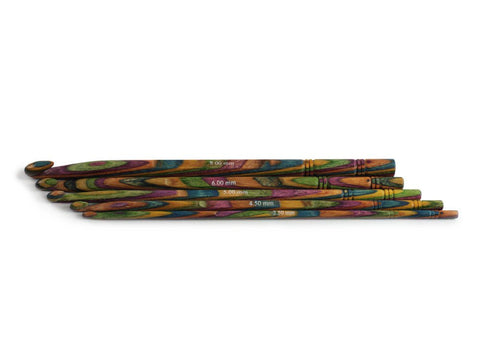 Knit Pro Symfonie Wood Crochet Hook Set