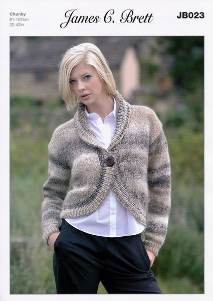Bolero in James C. Brett Marble Chunky (JB023)