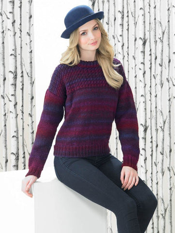Sweater in James C. Brett Marble DK (JB291)