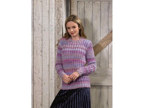 Sweater in James C. Brett Marble Chunky (JB584)