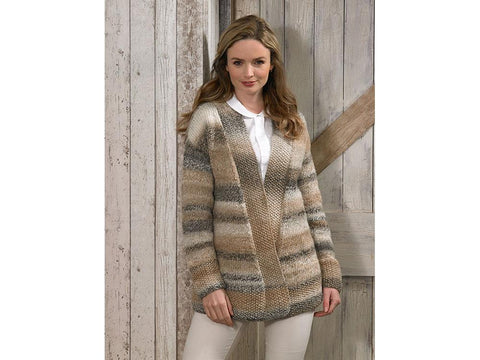 Jacket in James C. Brett Marble Chunky (JB585)