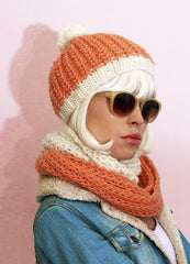 Cupcake Beanie and Snood by We Are Knitters