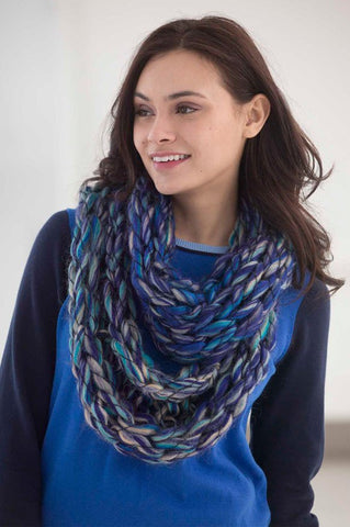 Arm Knit Cowl in Lion Brand Quickie - Digital Version