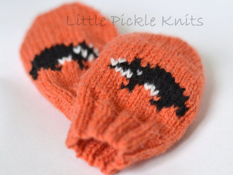 Badger Baby Mittens by Linda Whaley - Digital Version