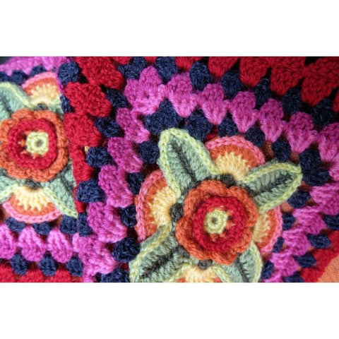 Mexican Diamonds Red Pack by Jane Crowfoot in Stylecraft Life DK