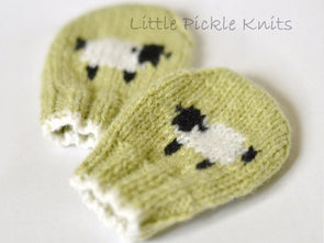 Baa Baa Baby Mittens by Linda Whaley - Digital Version